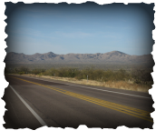 Route 77 en Arizona
